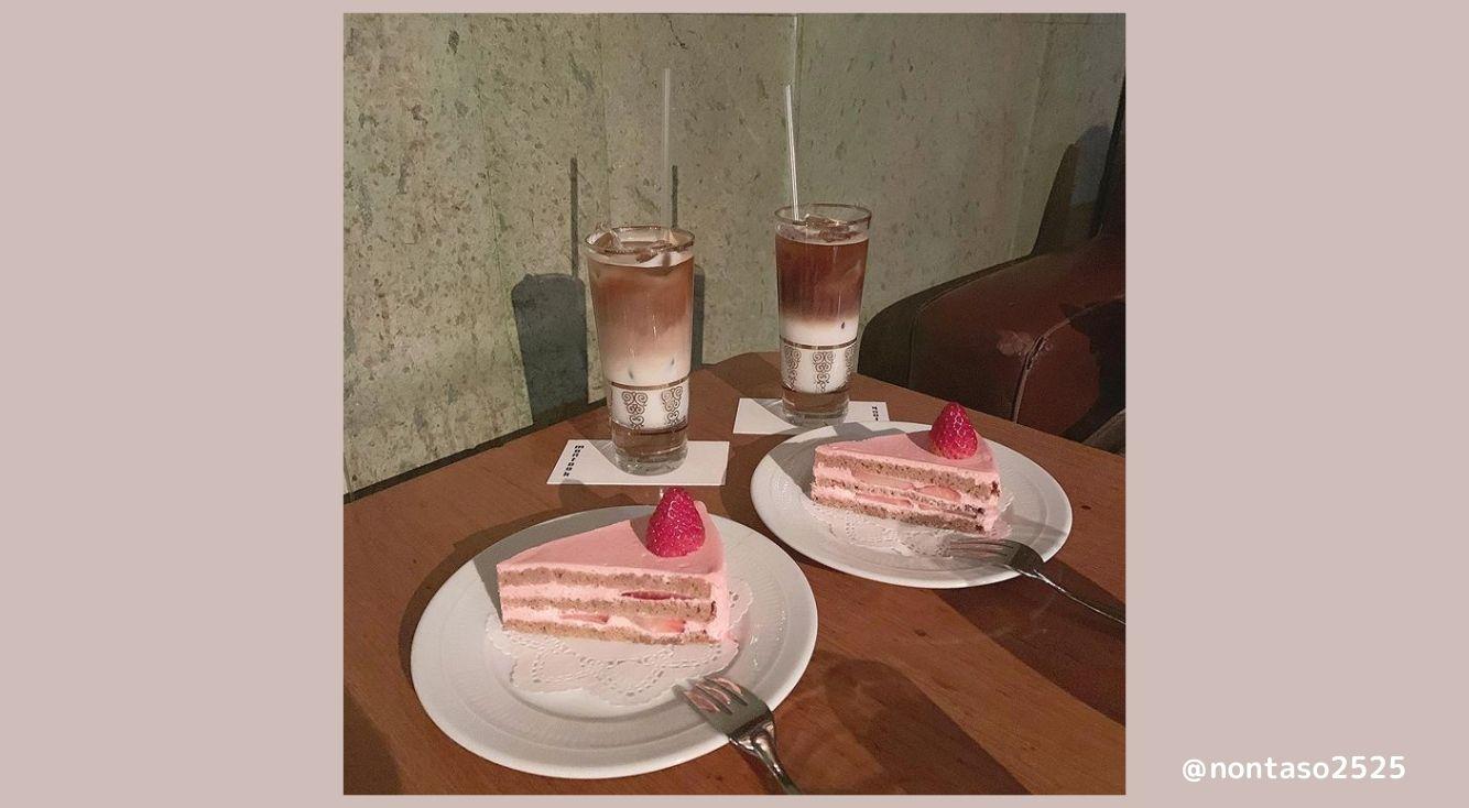 表参道「montoak(モントーク)」ピンクのショートケーキが可愛すぎる♡チーズケーキや高級感あるカレーも人気!