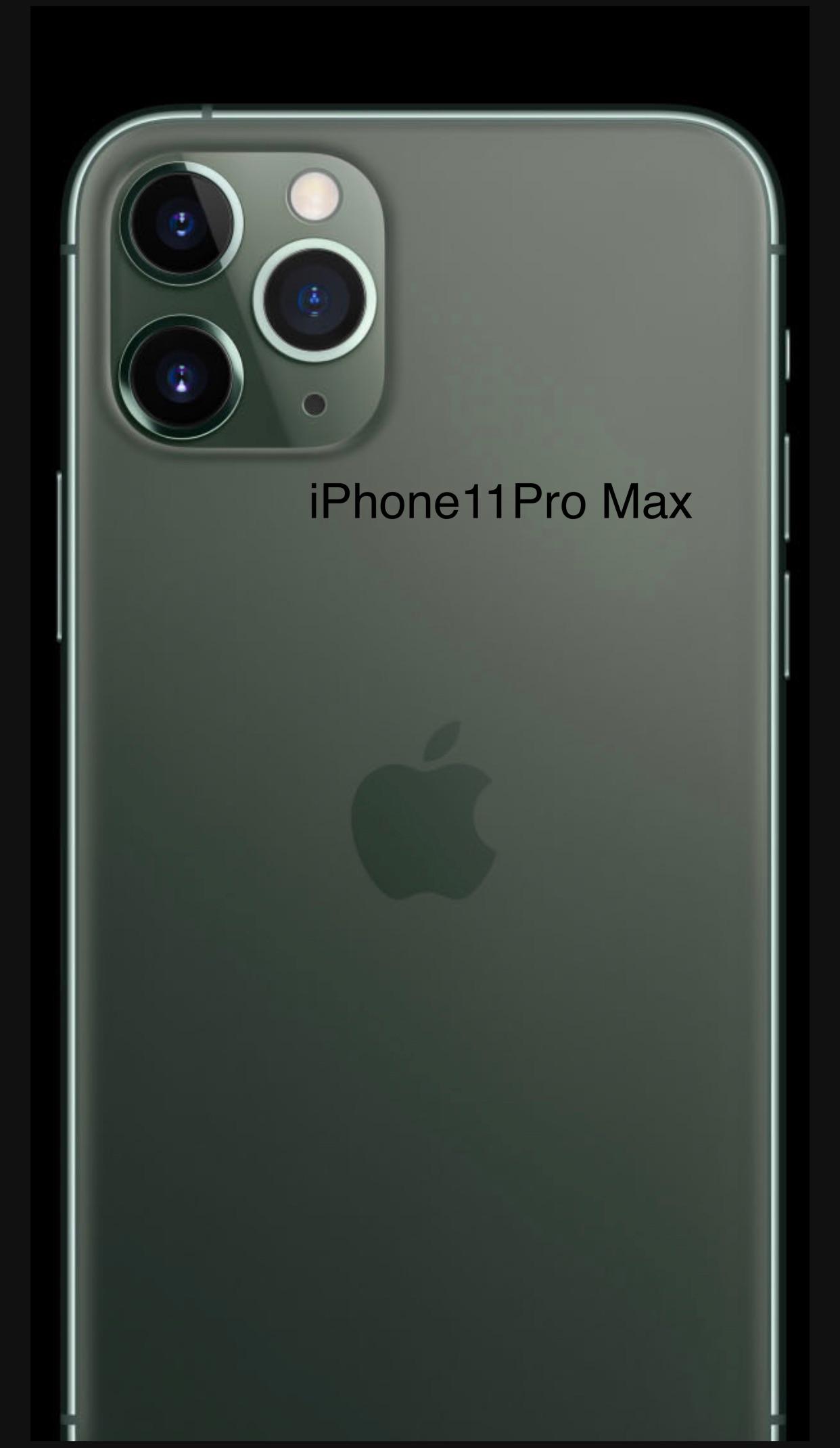 iPhone11promax本体画面画像