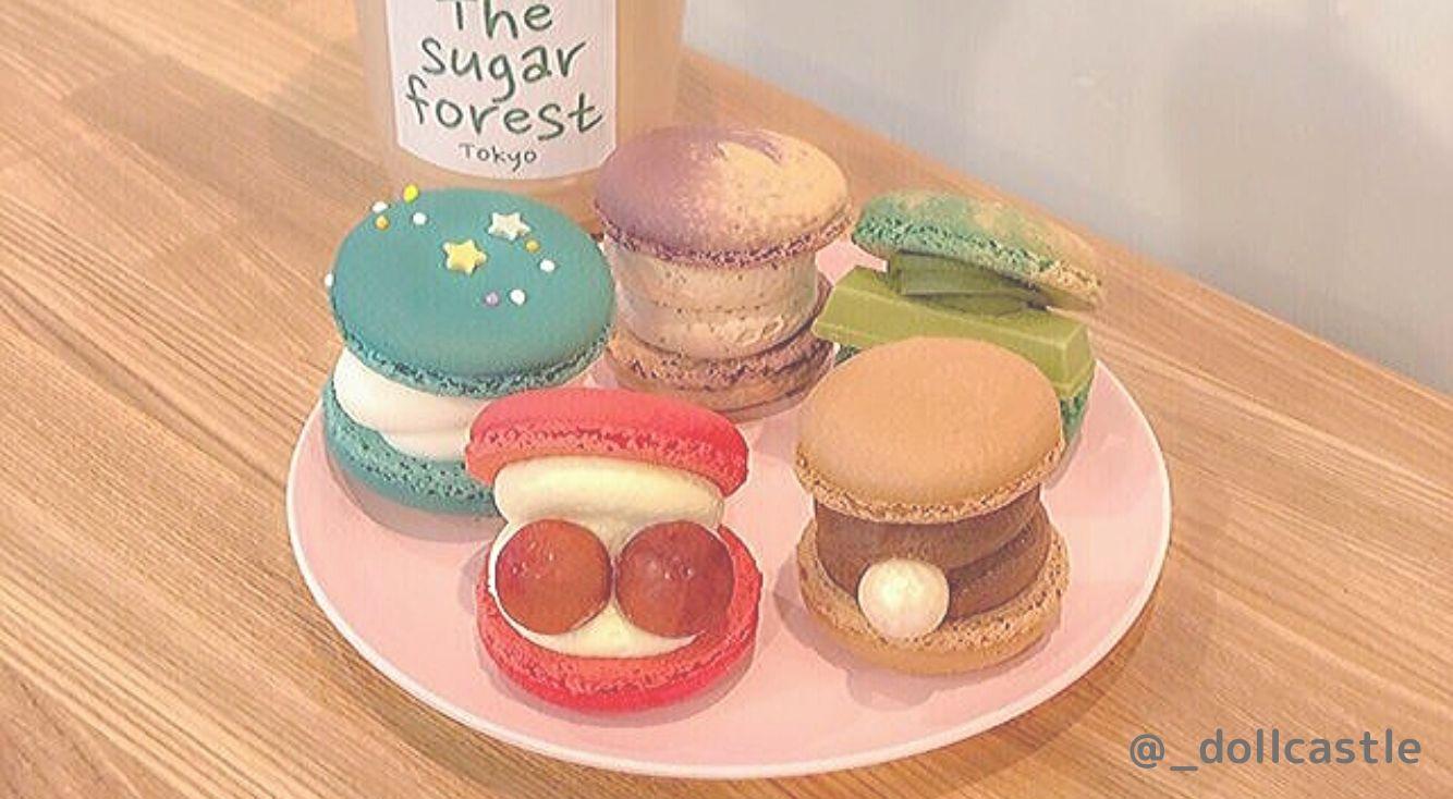 韓国マカロン専門店【The sugar forest】が日本初上陸!ごろっと大きなゆめかわトゥンカロンが話題♡