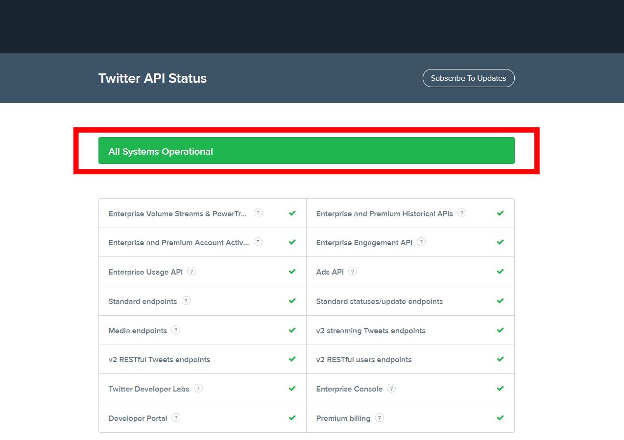 Twitter-API-Status