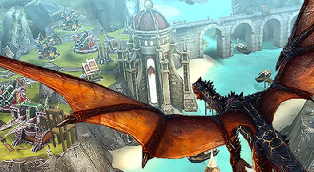 ドラゴンになって街を思いのままに破壊しよう!【War Dragons】