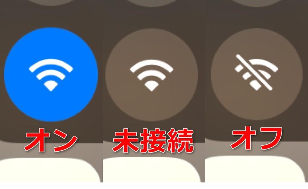 Wi-Fiの接続状態