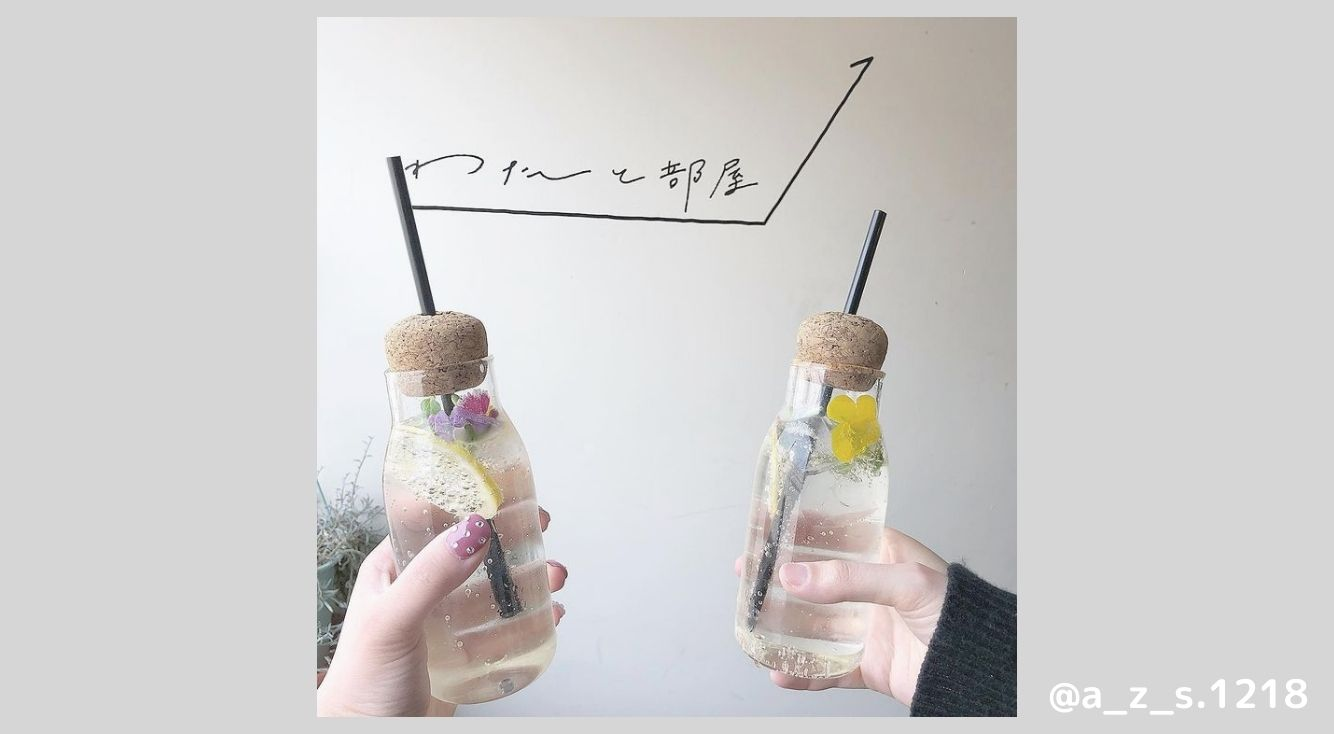 愛知県のお洒落カフェ『わたしとカフェ』を紹介♡フォトジェニックなハーバリウムドリンクが自分で作れちゃう♡