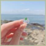 江ノ島のガラスの指輪ガチャが可愛すぎる!?「ガラスの指輪ガチャ」のご紹介♡