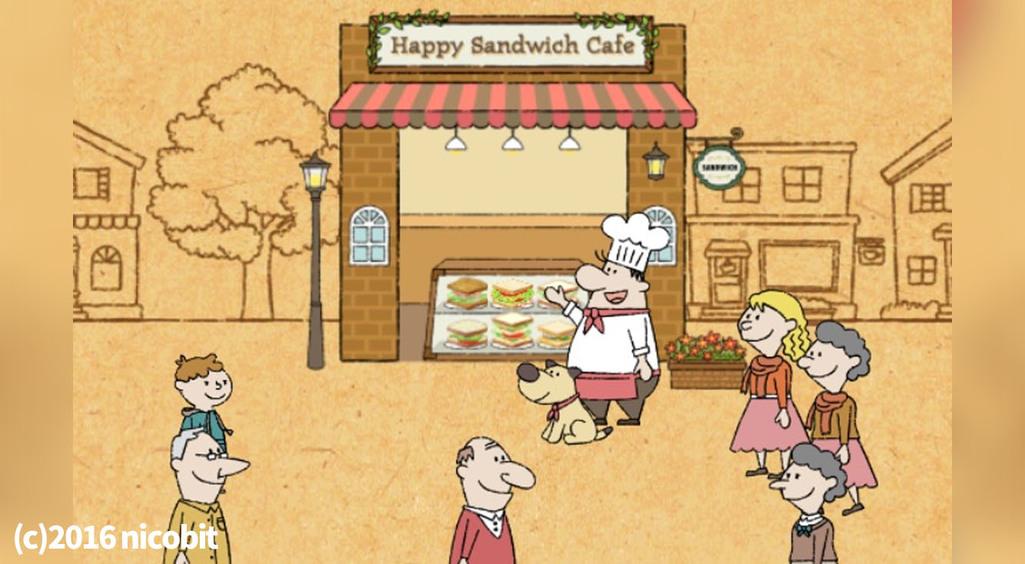 食欲の冬!自分だけのサンドイッチ屋さんを作ろ♪