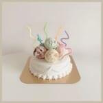 サーティワンから登場したインスタ映えアイスケーキ!「31 デコケーキ カラフル☆ポップ」を韓国風にアレンジ♡
