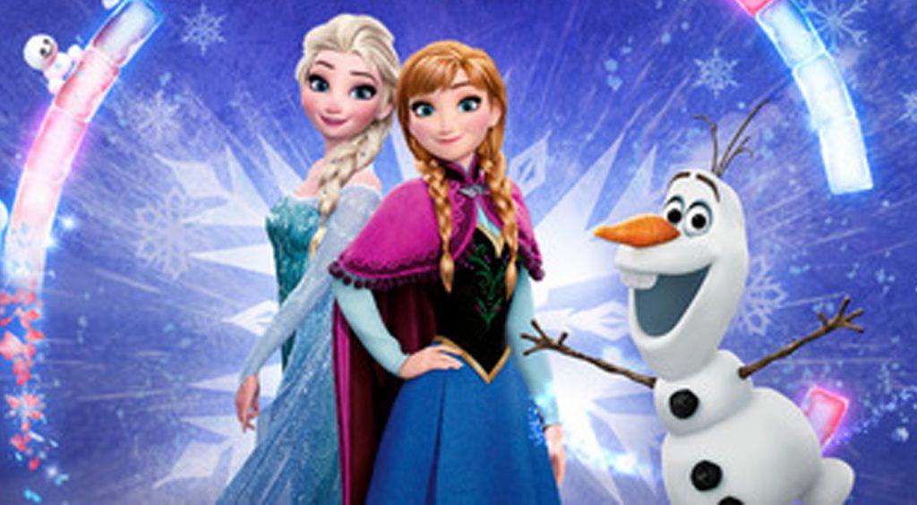 魔法の雪玉で爽快スノーショット!【アナと雪の女王Free Fall:スノーショット】