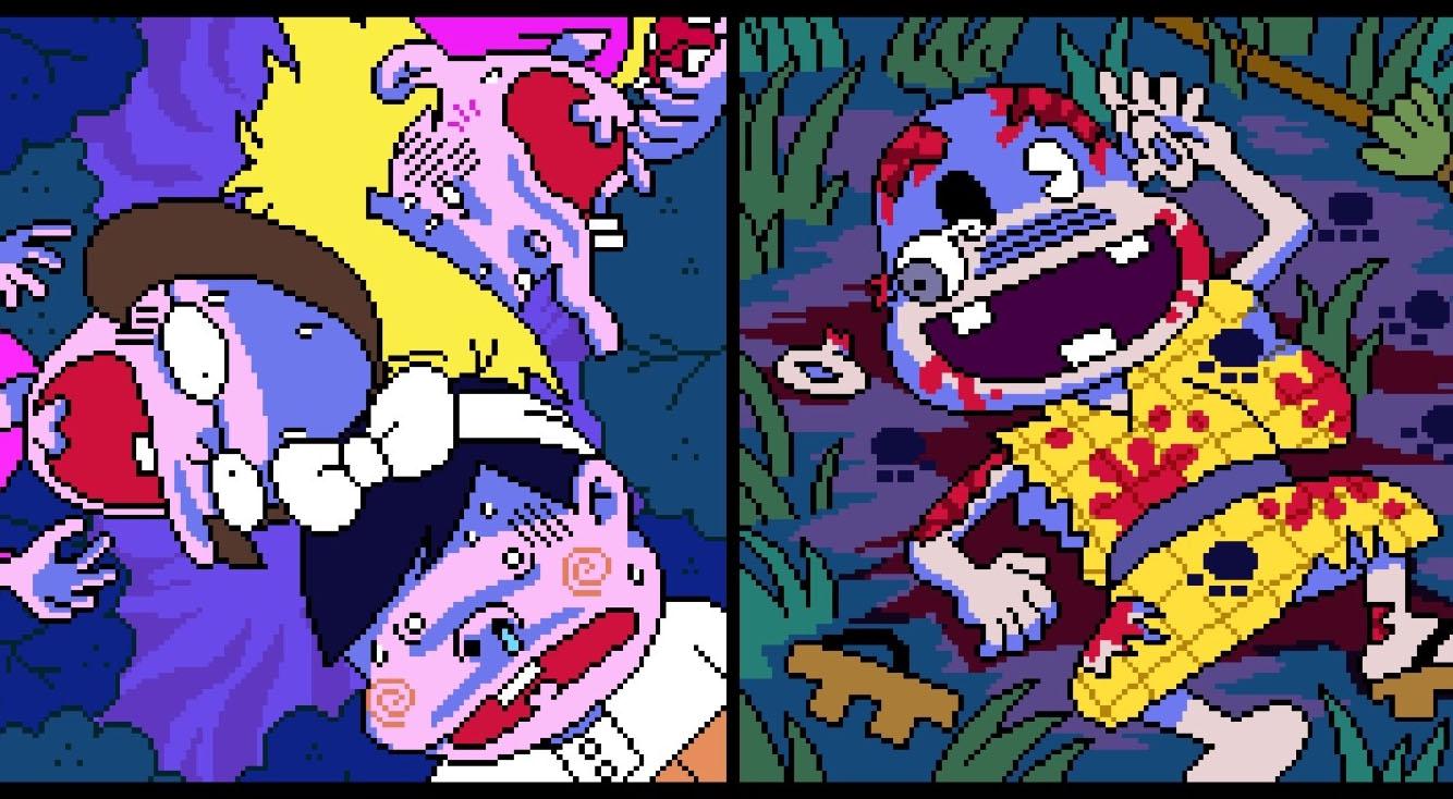 ゾンビは怖いのダ!バカボン×バイオハザード異色のコラボホラー!