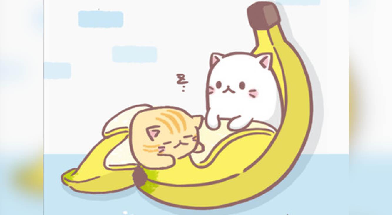 ねこ(バナナ)あつめ!アニメが好評だった【ばなにゃ】のかわいいゲーム♡