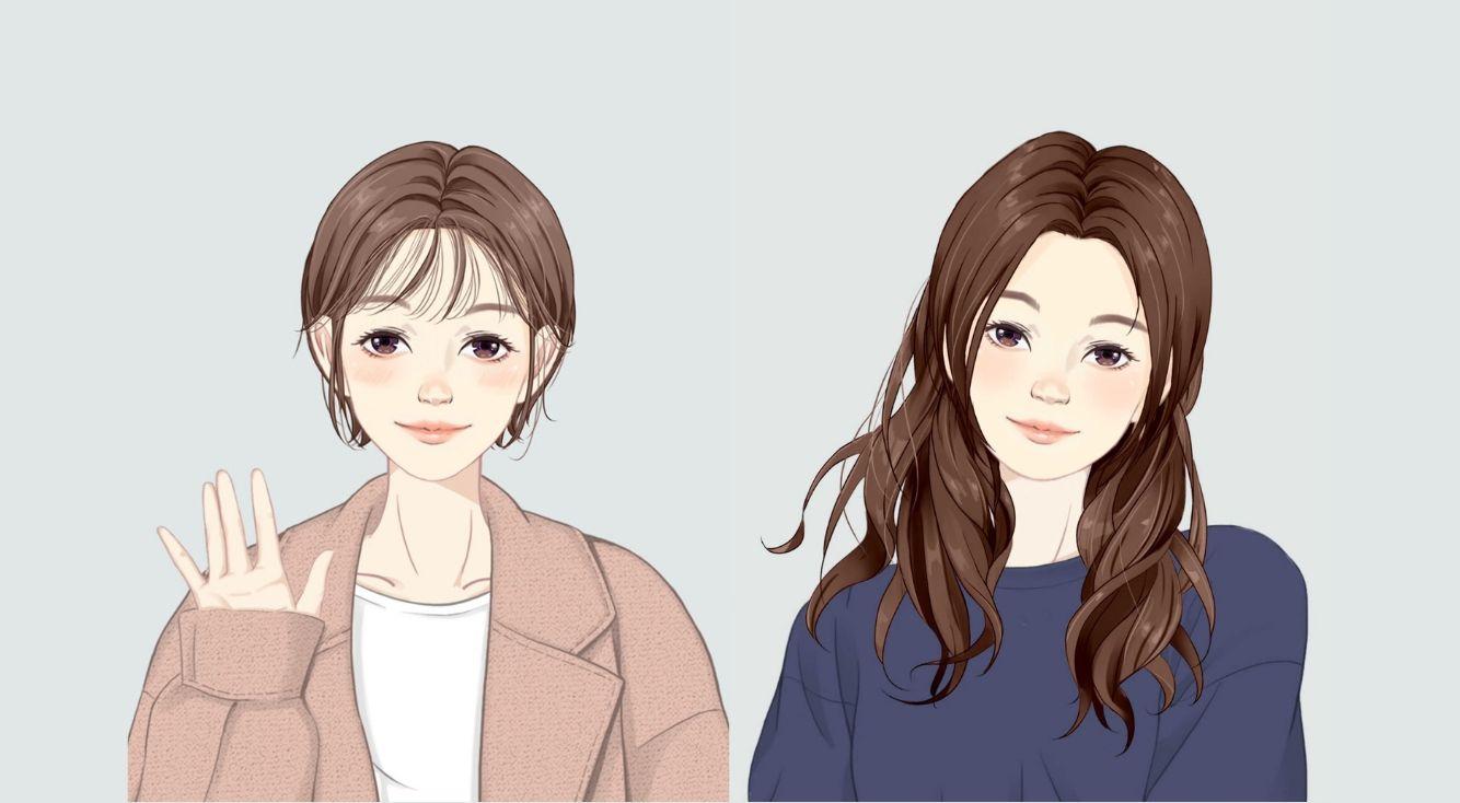 【BeautyPlus】写真を撮るだけでアニメキャラのようなアイコンが作れる!美術部機能が追加されたよ!
