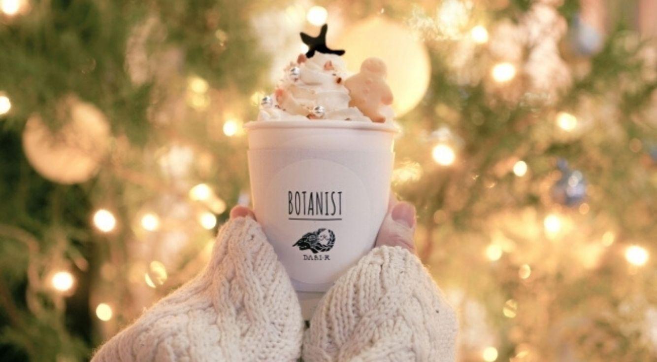 【冬限定】BOTANIST cafeで、あなただけのツリードリンクを彩って♡カスタマイズできるホットチョコレートを12月1日(日)より新発売