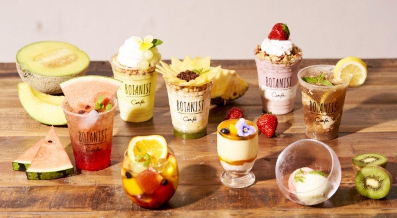 かわいくっておいしい♡『BOTANIST cafe 』から果実たっぷりの夏限定メニューが登場♡