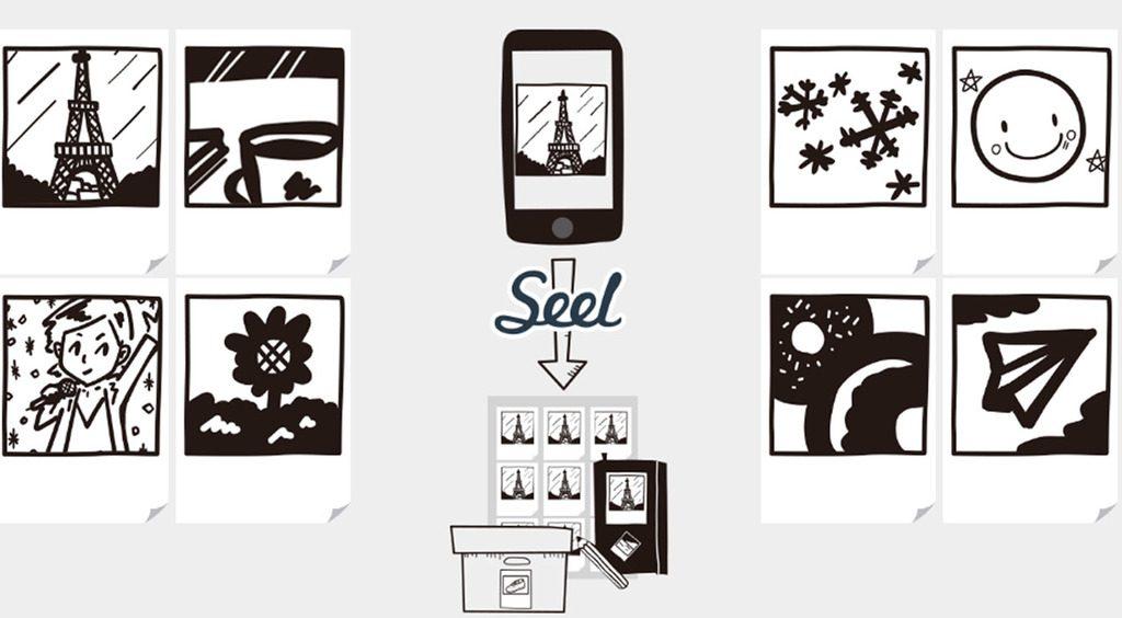 貼って楽しい!チェキ風シールが作れるアプリ【Seel[シール]】