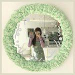 韓国で流行中♡SNS映えする「フォームミラー」の作り方を紹介!雲みたいにデコレーションされた鏡が可愛い♡