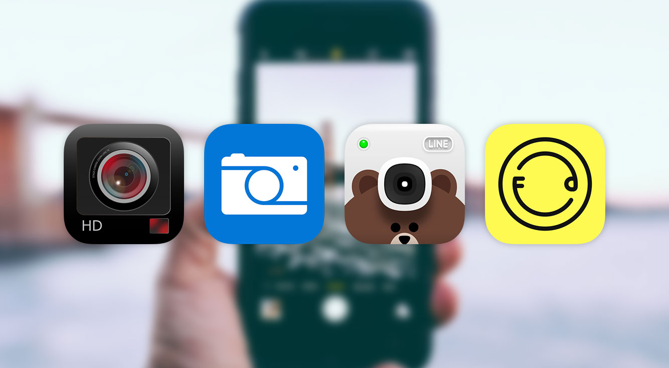 【ゆる~く比較】無料で無音で高画質なカメラアプリ4選【iPhone】