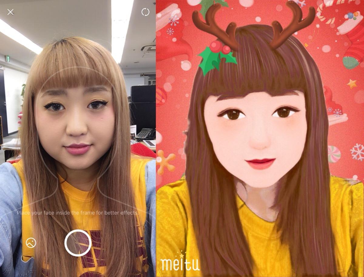 2017年盛れる笑えるクリスマス自撮りフィルターが使えるアプリ7選