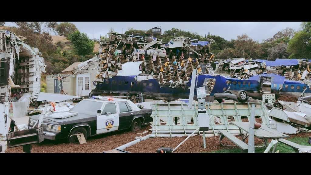トムクルーズ主演の「宇宙戦争」のワンシーンのセット