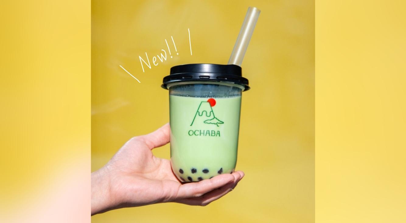 タピオカ?いいえ、わらび餅です♡新感覚の「日本茶」ミルクティー専門店『OCHABA』オープン♡♡