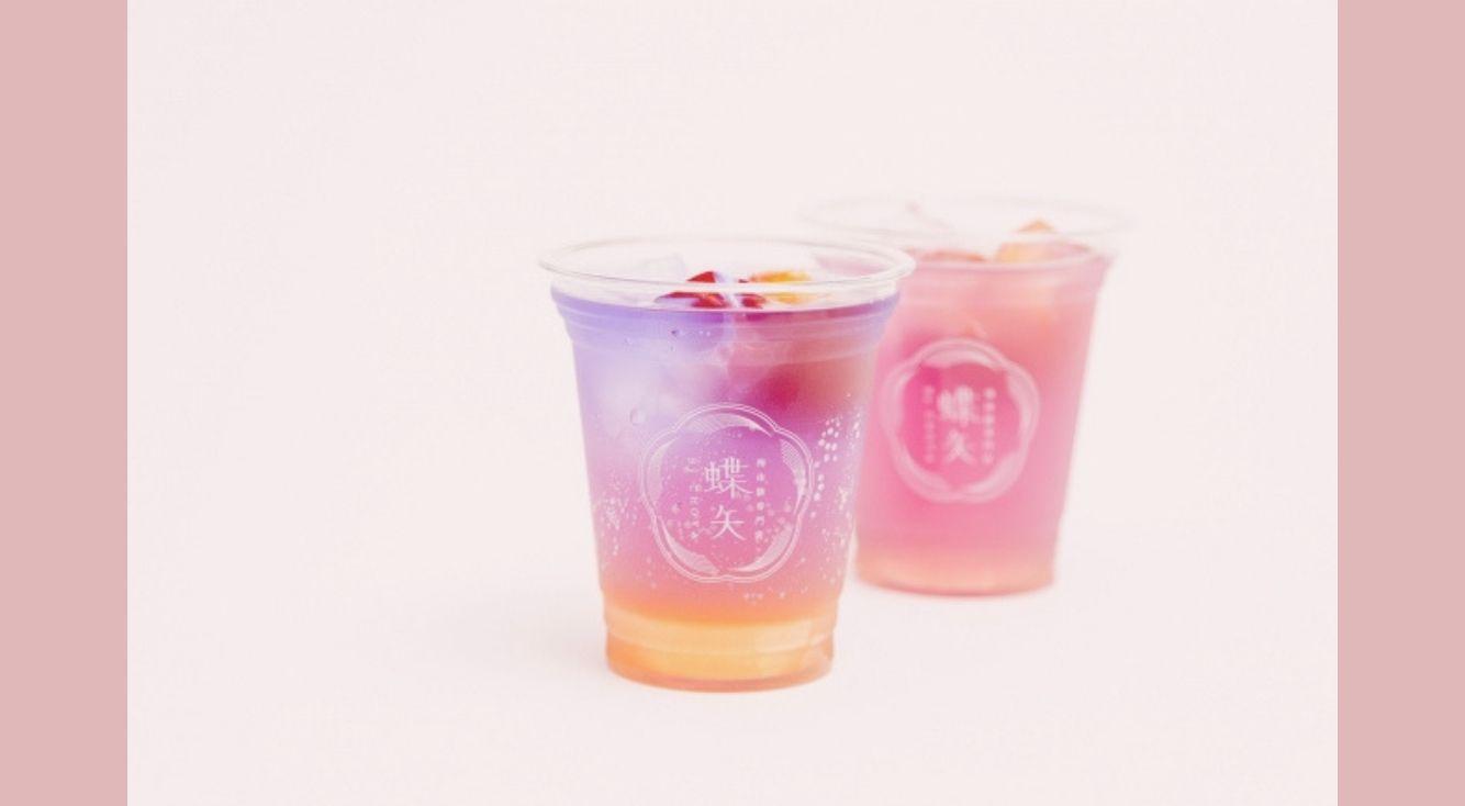 色が変わる不思議なドリンク?京都で『オーロラ梅ソーダ』が期間限定販売♡
