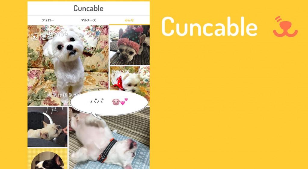 イヌ友見つけるワン!愛犬の気持ちで投稿するSNS【Cuncable】