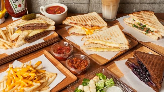 2020年大注目!トロケるサンドイッチの《グリルドチーズサンド》POTAMELTが中目黒にオープン!