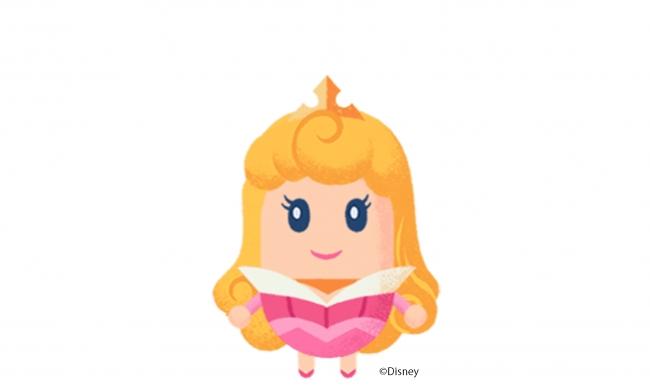 オーロラ姫のリトルドール