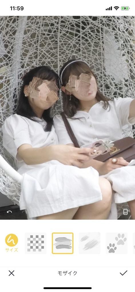 インスタでよく見る油絵っぽい顔隠しのやり方は?Camera360(カメラ360)を使った顔隠しまとめ