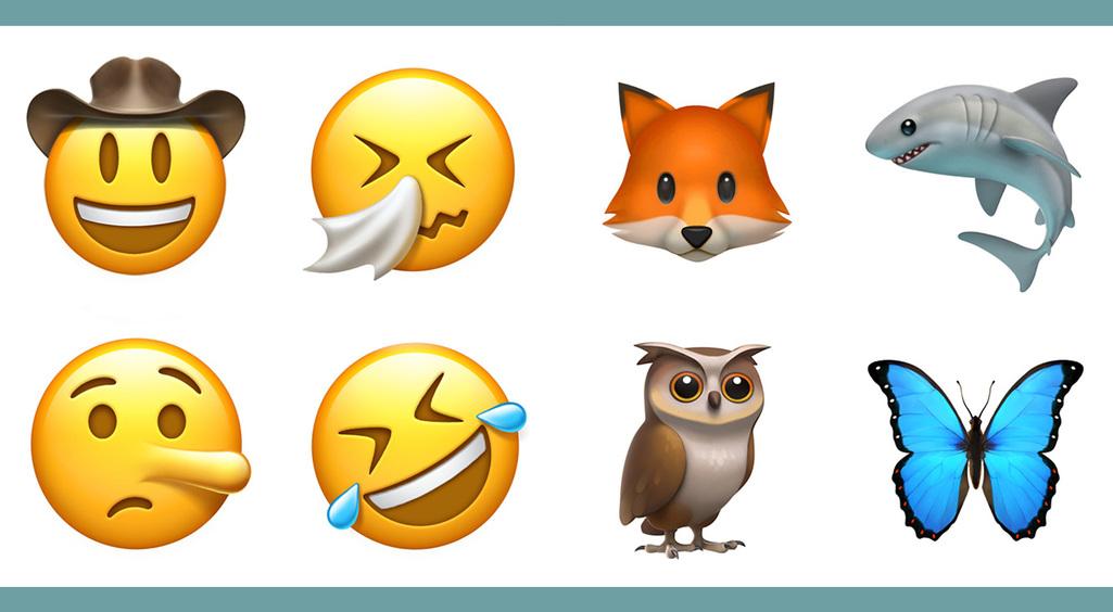 アボカド、ボウイ、ウィスキーにイカまでも!【iOS10.2の新絵文字】