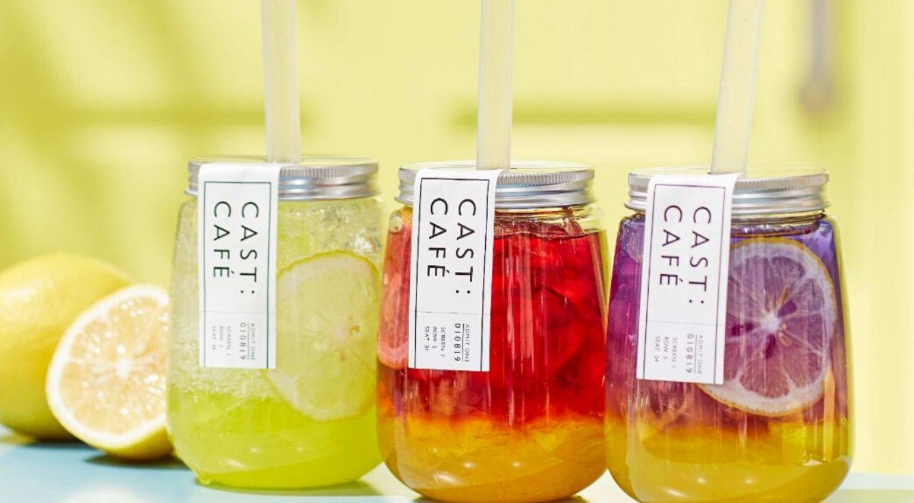 ウィメンズブランド「CAST:渋谷店」併設の「CAST:CAFÉ」の新昨夏ドリンク