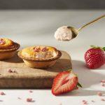 「BAKE CHEESE TART」あまおう苺を使用した「あまおういちごチーズタルト」「あまおういちごサンデー」を期間限定で発売!