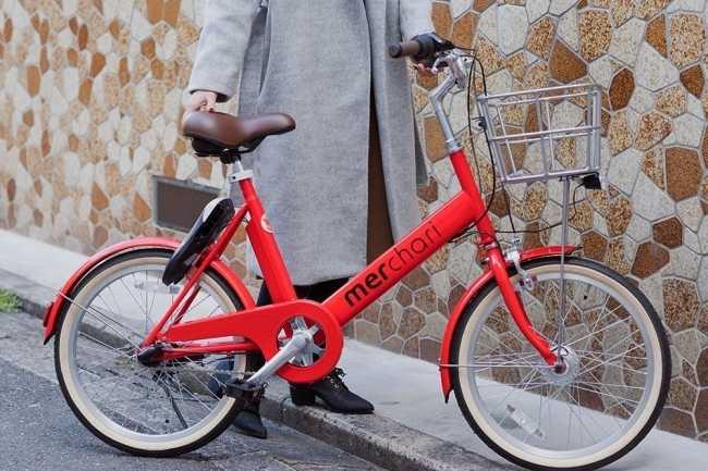 メルチャリの自転車