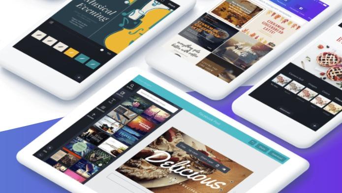 画像加工 & デザインアプリ「Canva」