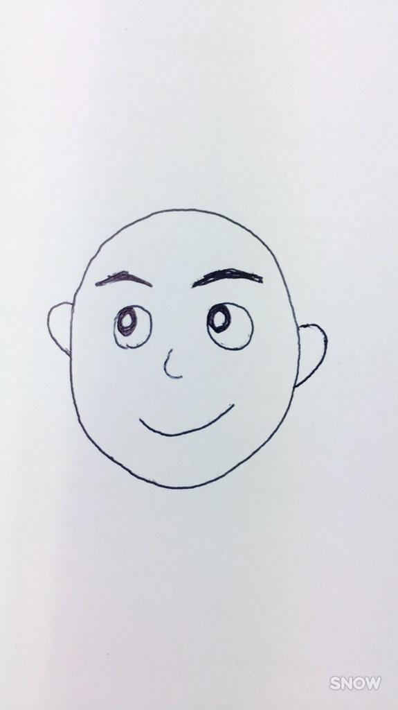えりなっちのイラスト「全体的弐 丸男」