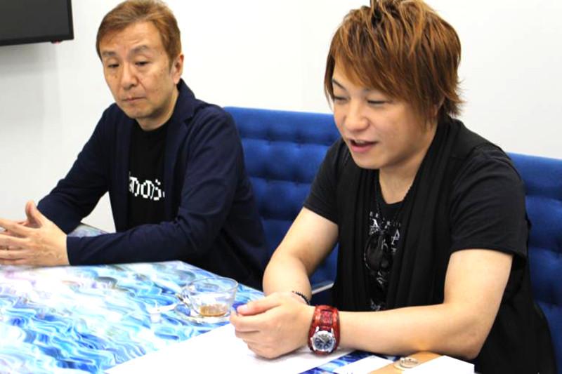 レジェンヌプロデューサー平田さんとYOFFYさん