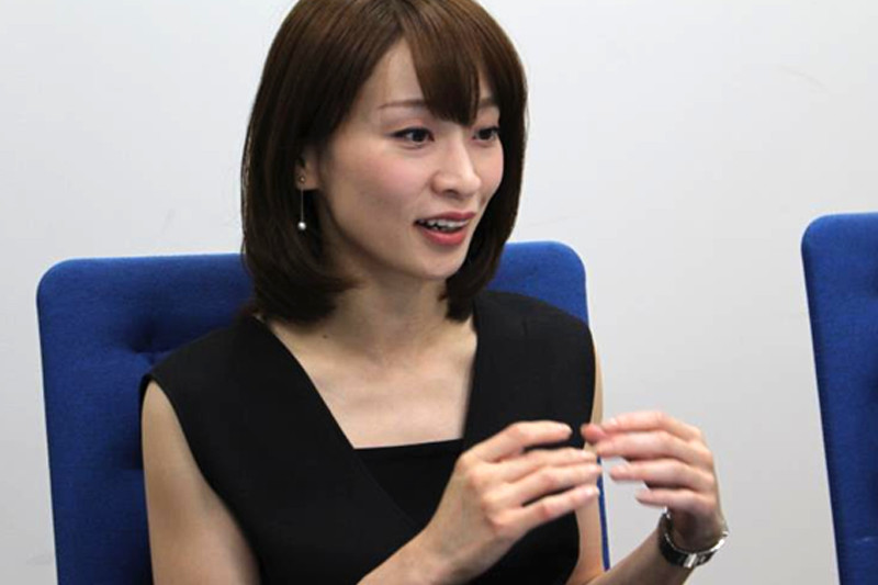 北咲彪凛役の藤咲えりさん