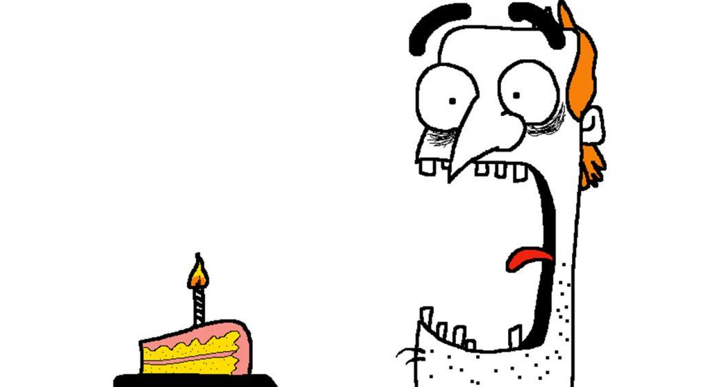 クラスでチョゲてる男子が描きそうなパラパラ漫画作ってみた