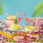 サマーデザートビュッフェ♡トロピカル・フラミンゴパーティー開催!