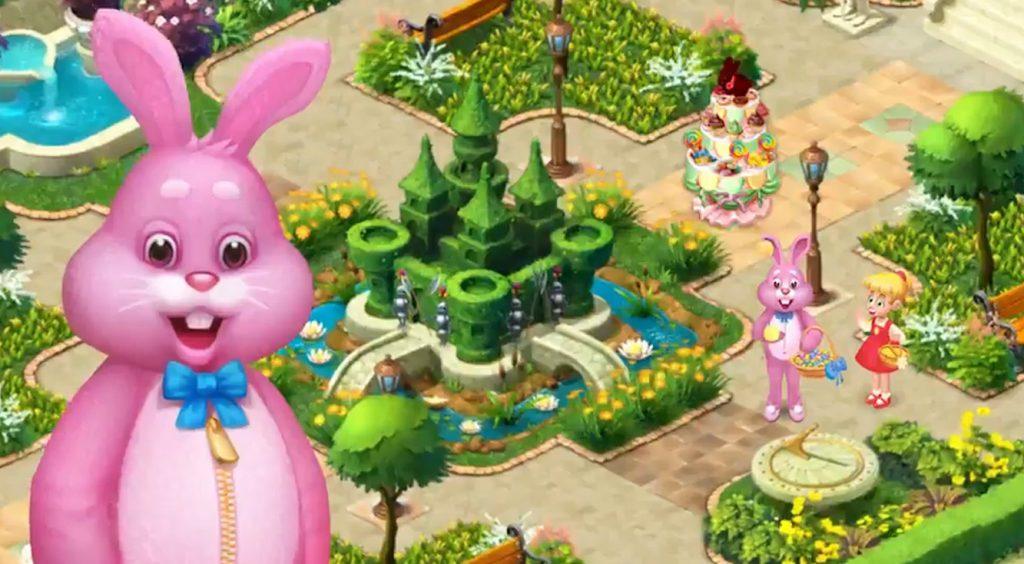 【4/12追記アリ】【祝】ガーデンスケイプがイースターイベントを開催中。奇妙なウサギの正体が気になる…‼