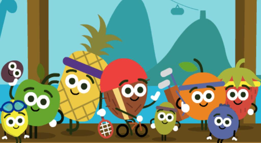 Google リオオリンピックミニゲーム