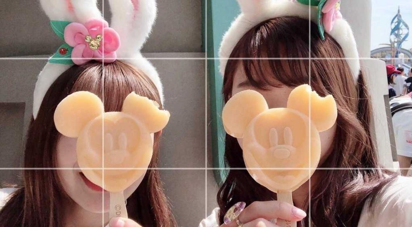 【LINE Camera】写真にグリッドを入れておしゃれ感をプラス!