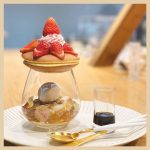 京都の和菓子屋、永楽屋の『みかさパフェ』を紹介!どら焼きのパフェが映えるとSNSで大注目♡