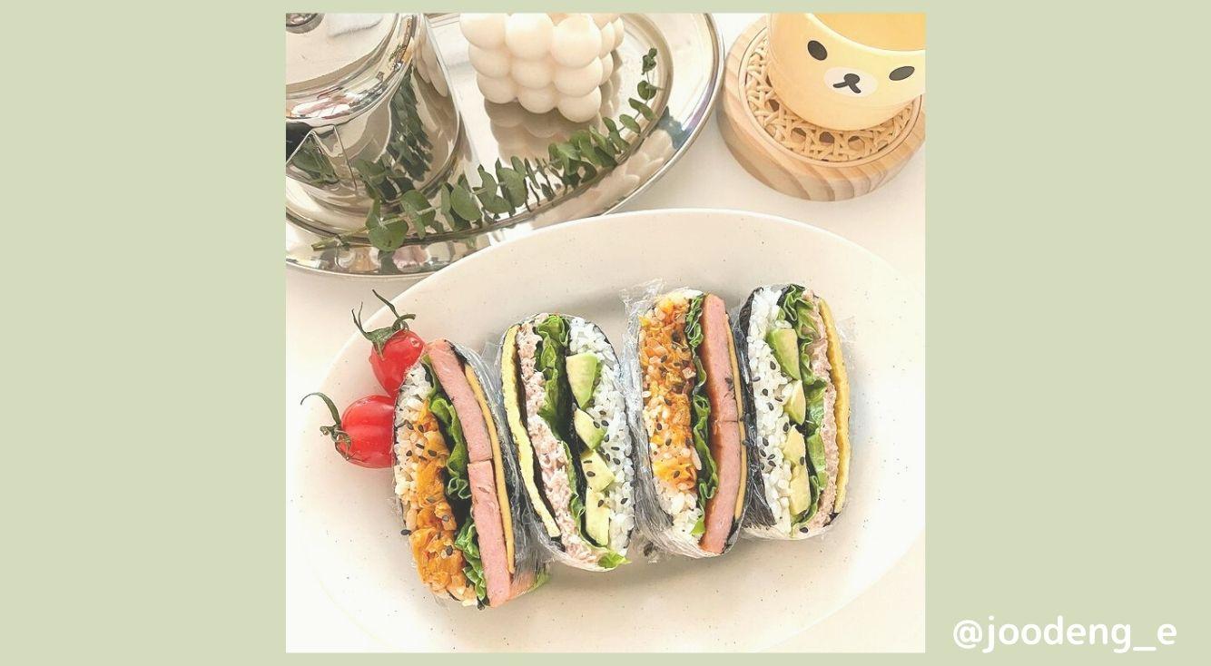 巻くより簡単♡今SNSで話題の折って食べるキンパ「#접어먹는김밥」を紹介!