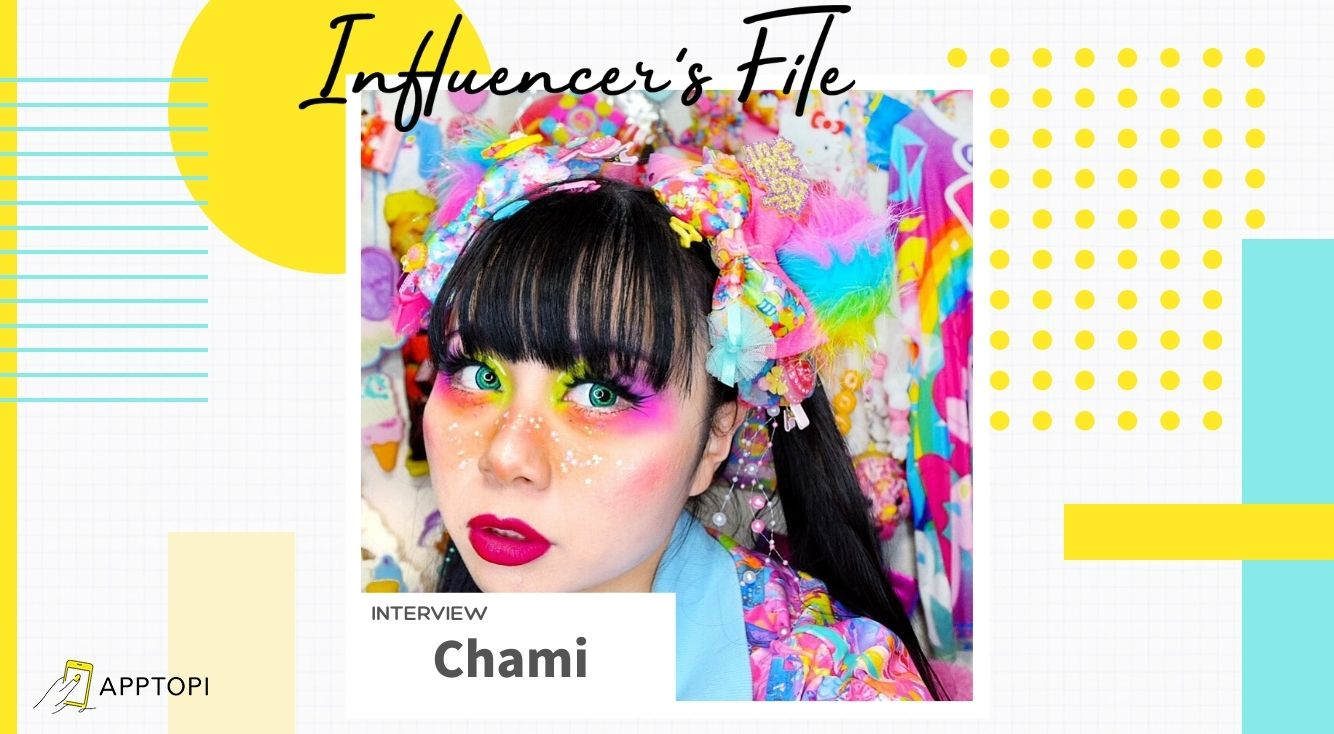 夢とトキメキを届けるカラフルガール・Chamiさんにインタビュー!ファッションのことやハッピーメンタルを作る方法など、色々聞いてみた♥