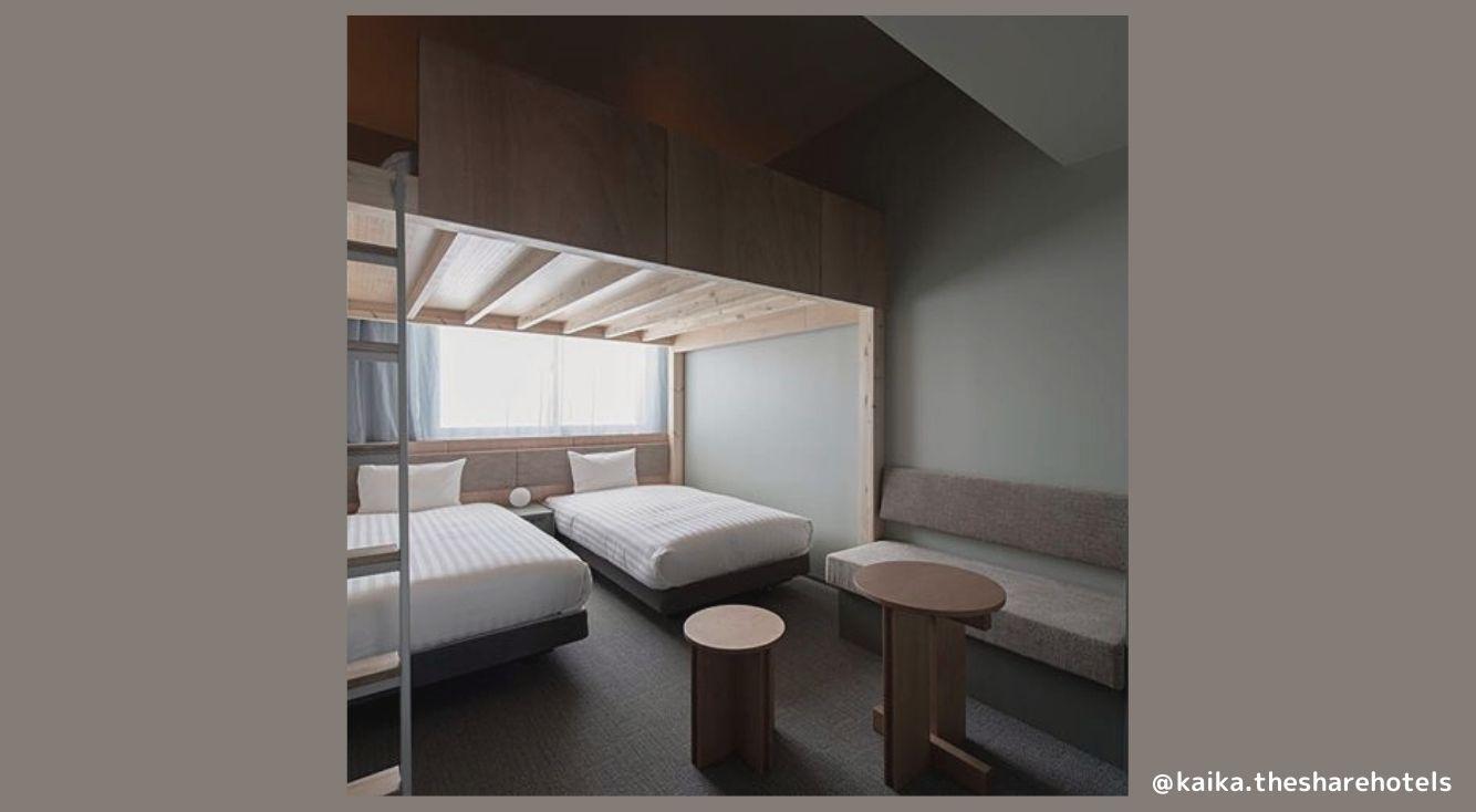 押上・浅草まで徒歩圏内♪話題のホテル「KAIKA(カイカ)」に泊まってみた!洗練された雰囲気がたまりません♡