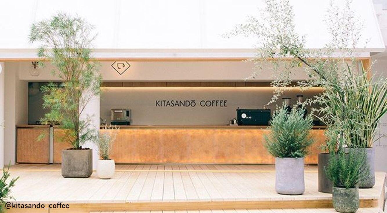 キャッシュレスの韓国っぽカフェ【KITASANDO COFFEE】でシンプルお洒落なひとときを♡