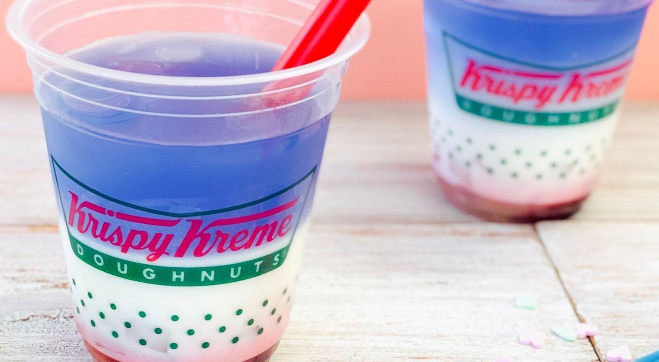"""""""ゆめかわいい""""ユニコーンカラードリンクが『Krispy Kreme Doughnuts(クリスピークリームドーナツ)』に登場!"""