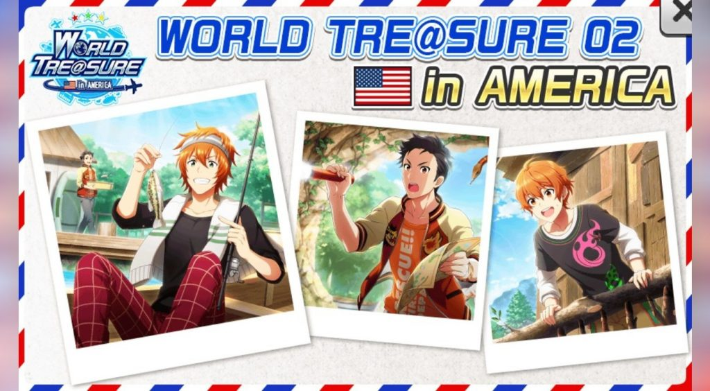 4月10日ボーダー追記【エムステ】WORLD TRE@SURE第二弾「アメリカ」開始! 変更点や攻略ポイント☆