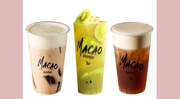チーズティーのインターナショナルブランド「マカオインペリアルティー」が日本初上陸☆