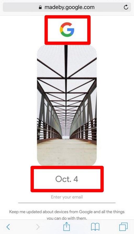 10月4日Googleピクセル