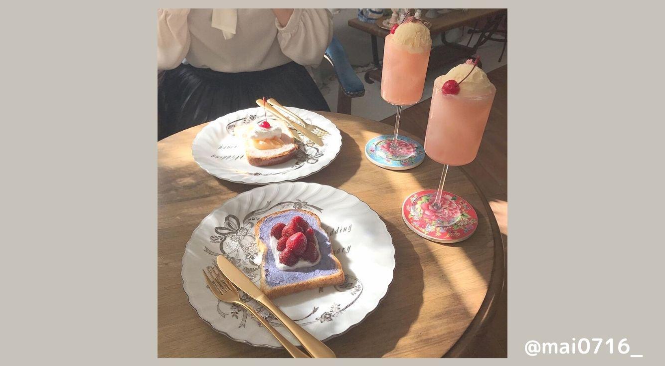 女子必見!超インスタ映えするメルヘンメニューが可愛いカフェ「Doux Murmures 樹の音」 ♡